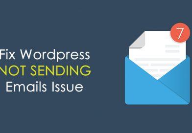 حل مشکل ارسال ایمیل وردپرس