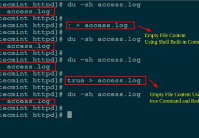 ۵ روش خالی کردن فایل های حجیم در لینوکس