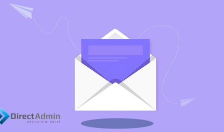 ساخت ایمیل در دایرکت ادمین