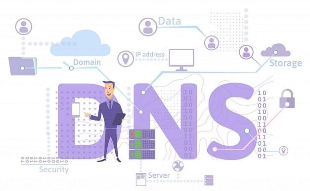 روش تنظیم DNS